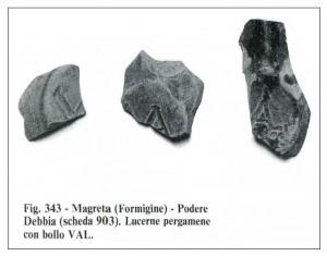 Reperti archeologici Valeri al Museo di Modena