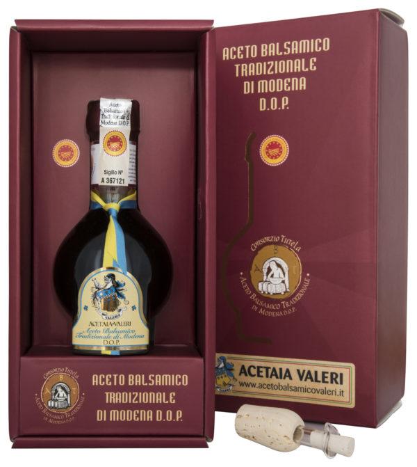 Aceto Balsamico tradizionale di Modena DOP Acetaia Valeri Affinato cravatta