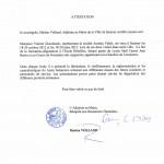 Certificate schools of Saumur