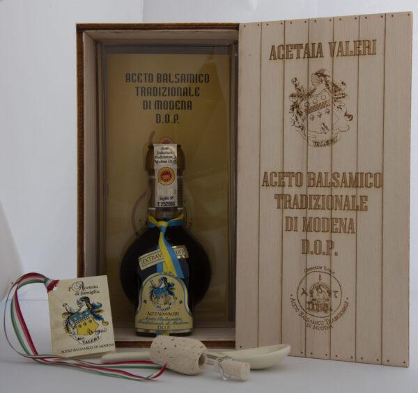 Aceto Balsamico Tradizionale di Modena Extravecchio confezione legno