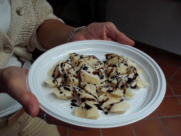 Aceto Balsamico Tradizionale e Parmigiano Reggiano