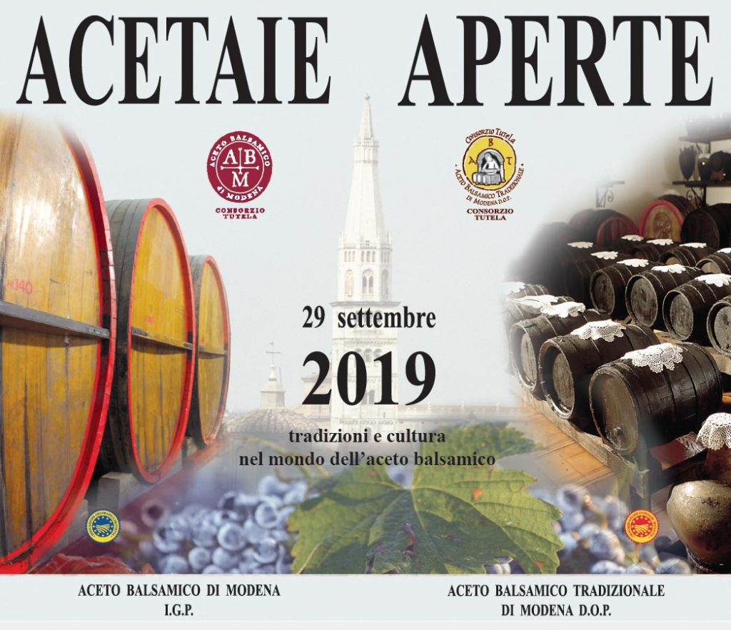 Vinegar Open 2019 balsamic Acetaia visit