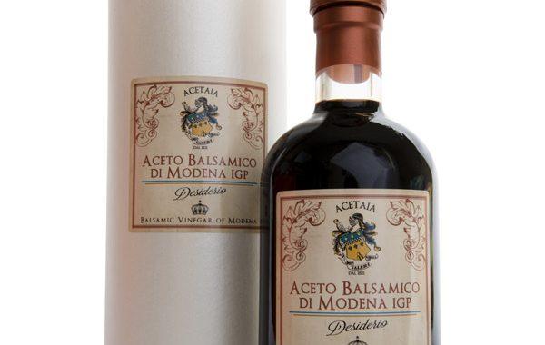 """Aceto Balsamico di Modena IGP """"Desiderio"""" – 250 ml qualità 1 corona"""