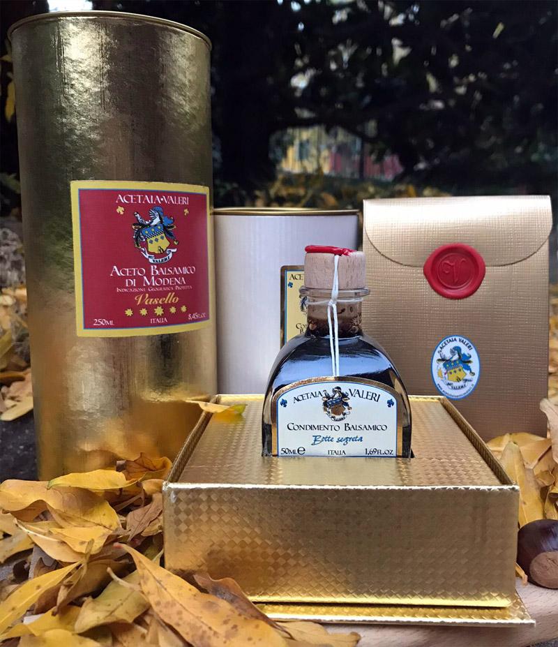 Regali di Natale con Aceto Balsamico di Modena