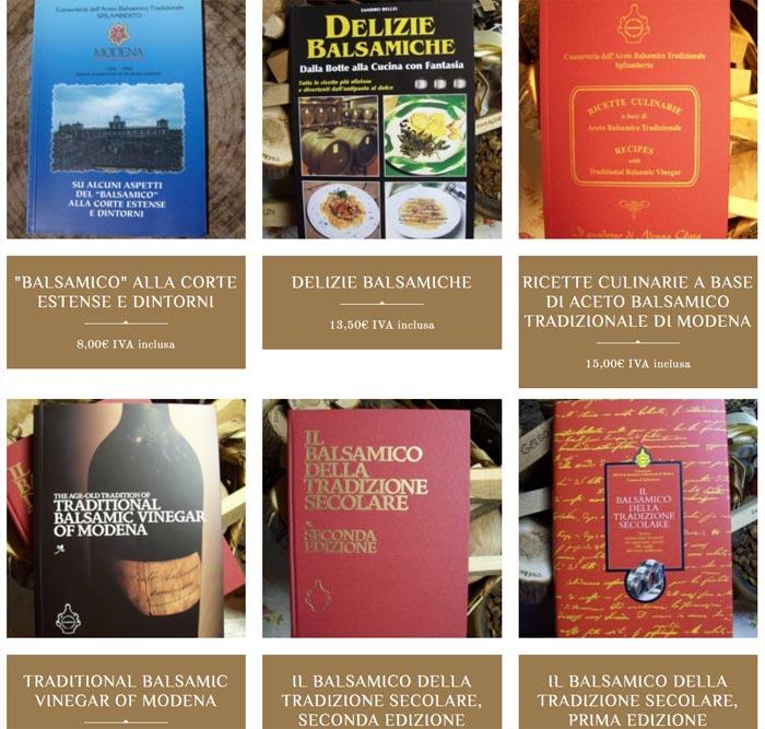 Libri in vendita su Aceto Balsamico