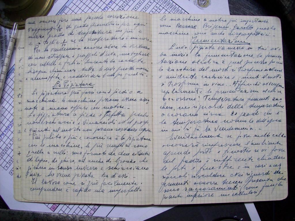 Appunti Storici del 1930 dell'Acetaia Valeri